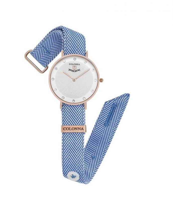 Orologio spigato blu donna #1