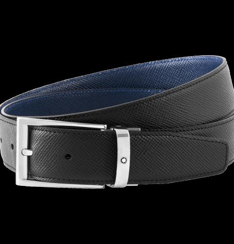 Cintura elegante neraindaco reversibile cut-to-size - 118438 #1