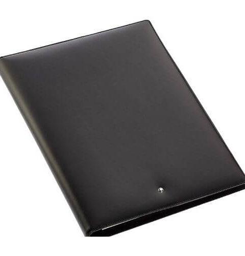 Montblanc Meisterstück porta blocco A4 in pelle colore nero - 5523 #1
