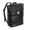 Nava Passenger Leather – Flapsack Black – PL078 #1