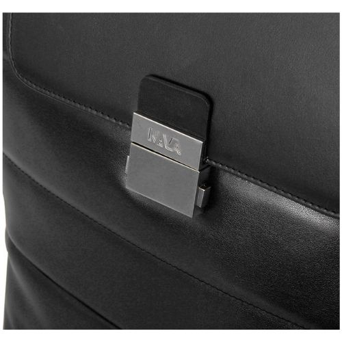 Nava Passenger Leather – Flapsack Black – PL078 #5